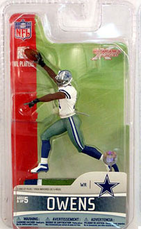 3-Inch Terrell Owens 2 - Dallas Cowboys