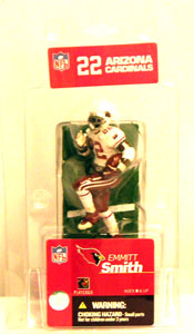 3-Inch Singles: Emmit Smith White Jersey