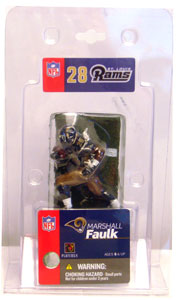 3-Inch Singles: Marshall Faulk Series 7