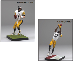 NFL 2-Pack: Ben Roethlisberger and Santonio Holmes