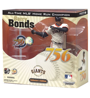 BARRY BONDS - 756TH HOME RUN COMMEMORATIVE