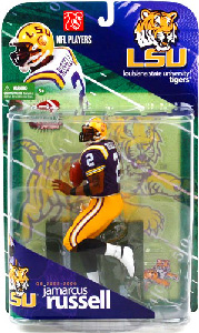 JaMarcus Russell - Louisiana State University Tigers - Purple Jersey Variant