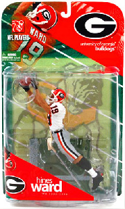 Hines Ward - University of Georgia Bulldogs - White Jersey Variant