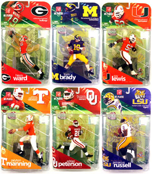 Mcfarlane College Football Series 1 Set of 6