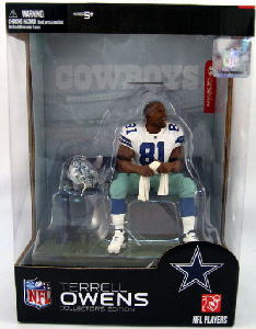Collectors Edition Terrell Owens - Dallas Cowboys