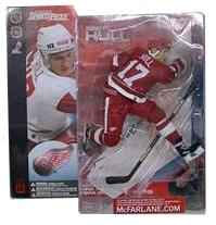 Brett Hull Series 2 - Detroit Red Wings - Red Jersey Variant