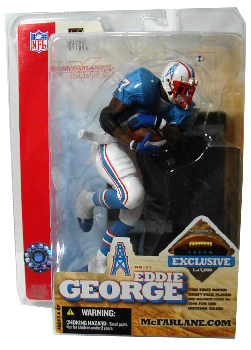 Eddie George Exclusive - Oilers