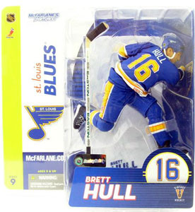 Brett Hull St Louis Blues Jersey Variant