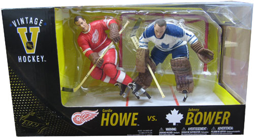 Exclusive 2-Pack: Gordie Howe Vs Johnny Bower