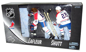 MONTREAL CANADIENS CENTENNIAL 2-PACK: Guy Lafleur AND Steve Shutt Exclusive