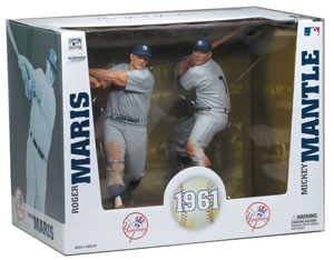 MLB Cooperstown Collection 2-pack: Mickey Mantle 2 and Roger Maris[Yankees]
