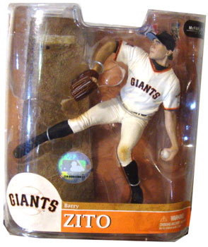 MLB 20 - Barry Zito - Giants - White Jersey Variant