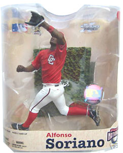 Alfonso Soriano 3 Red Jersey Variant- Series 21