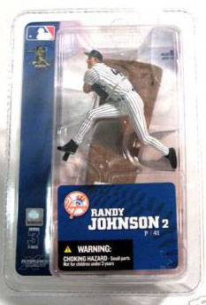 3-Inch Yankees Randy Johnson