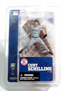 3-Inch Red Sox Curt Schilling