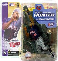 Torii Hunter Grey Pants - Twins