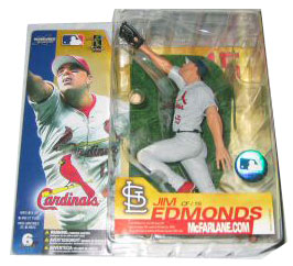 Jim Edmonds Grey Jersey Variant