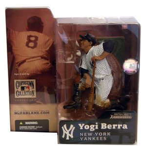 MLB Cooperstown Series 1 - Yogi Berra Baseball Cap Variant - New York Yankees