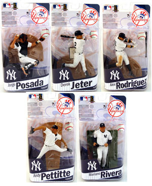 Mcfarlane Sports MLB Elite Team NY Yankees - Set of 5