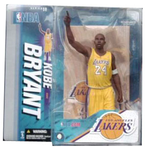 NBA series 11 - Kobe Bryant 4 Yellow Jersey Variant