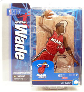Dwayne Wade 2 Red Jersey Variant