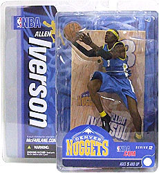 Allen Iverson 2 - Series 12 - Nuggets