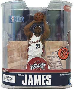 Lebron James 4 - Series 13 - White Jersey Variant