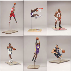 Mcfarlane NBA Series 15 Set of 6 [NO DESMOND MASON]