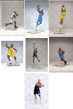 Mcfarlane Sports NBA Series 18 - Set of 7