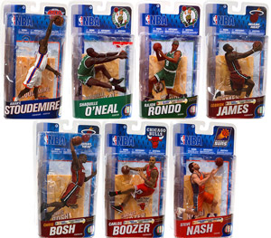 Mcfarlane Sports - NBA Series 19 - Set of 7