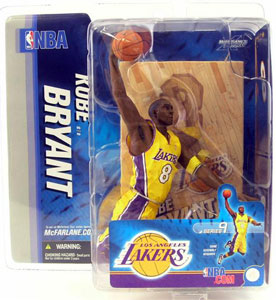 NBA Series 9 - Kobe Bryant 3 - Yellow Jersey - Los Angeles Lakers
