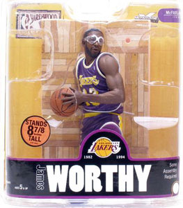 James Worthy - Purple Jersey Variant
