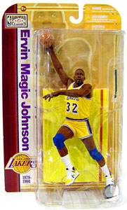 NBA Legends 5 - Magic Johnson Yellow Jersey Variant