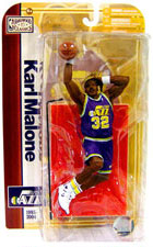 NBA Legends 5 - Karl Malone - Purple Jersey - Utah Jazz