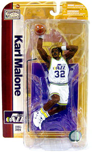 NBA Legends 5 - Karl Malone White Jersey Variant
