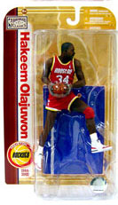 NBA Legends 5 - Hakeem Olajuwon Red Jersey - Rockets
