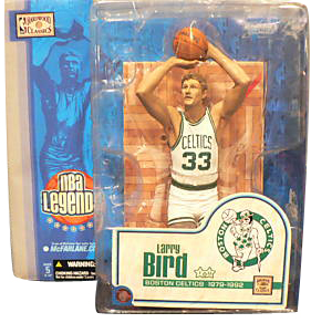 Larry Bird Series 1 White Jersey Variant
