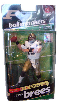 College Football - Drew Brees - Purdue Boilermakers - White Jersey Variant  Bronze Collector Level