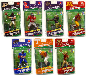 Mcfarlane College Football Series 2 Set of 7