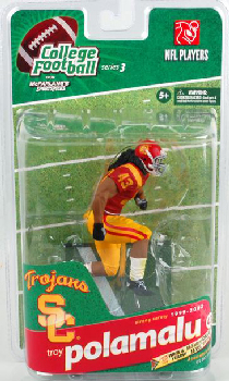 College Football Series 3 - Troy Polamalu - USC
