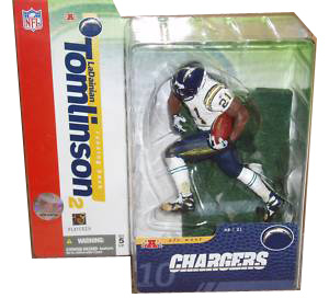 Ladainian Tomlinson Series 10 - White Jersey Variant Chargers