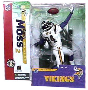 Randy Moss 2 Series 10- White Jersey Variant