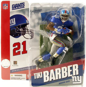 Tiki Barber 2 Series 11 - Giants