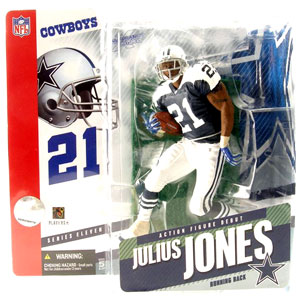 Julius Jones Retro Black Jersey Variant