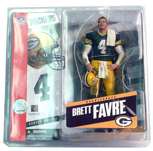 Brett Favre 3 Towel on Shoulders Variant