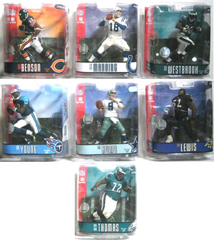 Mcfarlane NFL Series 15 Set of 7