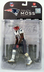 Randy Moss 4 - Red Arm Band Variant