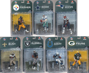 Mcfarlane NFL Series 17 Set of 7
