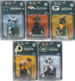 Mcfarlane NFL Series 19 - (2008 WAVE 3) - Set of 5