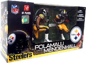 NFL 2-Pack: Steelers - Troy Polamalu and Rashard Mendenhall